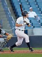 April 27, 2010: Infielder Bradley Suttle of the Tampa Yankees during a game at George M Steinbrenner Field in Tampa, FL. Tampa is the Florida State League High Class-A affiliate of the New York Yankees. Photo By Mark LoMoglio/Four Seam Images