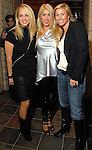 Caroline Faubus, Leslie Tyler Fink and Cathy Finn at the Duran Duran concert after party at home of Becca Thrash Friday Dec. 05, 2008. (Dave Rossman for the Chronicle)