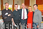 Pictured at the Wedding Fayre in the Devon Inn Hotel, Templeglantine on Sunday were L-R : Ciaran Coughlan and Diarmuid O'Brien (Cadenza Wedding Music), Mike Murphy and Emily Clarke (Keep in Touch Band) and Kevin Daly (Wedding Videos Newcastle West).