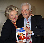 """Days Susan Seaforth Hayes & Bill Hayes with their book """"A Story Of Love"""" by Bill and Susan Hayes - Like Sands Through the Hourlass at the 28th Annual Romantic Times Booklovers Annual Convention 2011 - The Book Industry Event of the Year - April 8, 2011 at the Westin Bonaventure, Los Angeles, California for readers, authors, booksellers, publishers, editors, agents and tomorrow's novelists - the aspiring writers. (Photo by Sue Coflin/Max Photos)"""