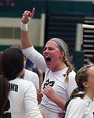 Birmingham Marian at Lake Orion, Varsity Volleyball, 11/8/11