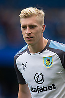 Burnley's Ben Mee during the pre-match warm-up <br /> <br /> Photographer Craig Mercer/CameraSport<br /> <br /> The Premier League - Chelsea v Burnley - Saturday August 12th 2017 - Stamford Bridge - London<br /> <br /> World Copyright &copy; 2017 CameraSport. All rights reserved. 43 Linden Ave. Countesthorpe. Leicester. England. LE8 5PG - Tel: +44 (0) 116 277 4147 - admin@camerasport.com - www.camerasport.com