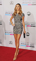WWW.BLUESTAR-IMAGES.COM  Stacy Keibler attends the 40th Anniversary American Music Awards held at Nokia Theatre L.A. Live on November 18, 2012 in Los Angeles, California..Photo: BlueStar Images/OIC jbm1005  +44 (0)208 445 8588..