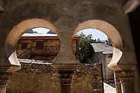 Spanien, Kastilien-Leon, Peñalba de Santiago (Penalba), mozarabischen Kirche aus dem 8. Jh.