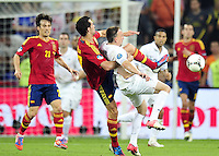 Franck RIBERY  - 23.06.2012 - Espagne / France -1/4 Finale Euro 2012 .Photo : Amandine Noel / Icon Sport.