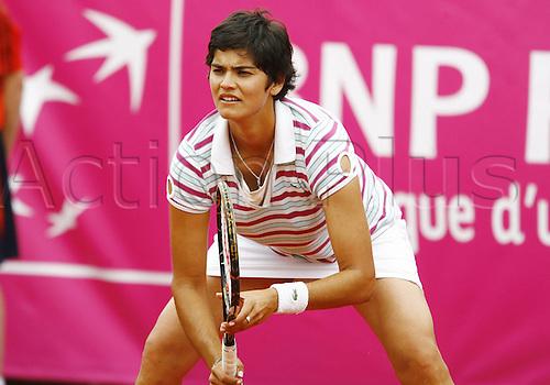 16 05 2010  Eleni Daniilidou GRE during the qualifications at the Strasbourg Womens Tennis Tour (WTA).