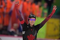 SPEEDSKATING: HAMAR: Vikingskipet, 28-02-2020, ISU World Speed Skating Championships, Sprint, 500m Ladies, Heather Mclean (CAN), ©photo Martin de Jong