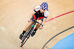 Li Chun Hei in action at the Hong Kong Track Cycling Race 2017 Series 5 on 18 February 2017 at the Hong Kong Velodrome in Hong Kong, China. Photo by Marcio Rodrigo Machado / Power Sport Images