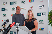 Land Rover New Zealand and The Horse of the Year Show announce that Tim and Jonelle Price will be competing at the 2019 Land Rover Horse of the Year Show in the Eventing, during the Official Media Release Press Conference that took place at Archibald and Shorter Land Rover, Greenlane, Auckland. Wednesday 12 December 2018. Copyright Photo: Libby Law Photography