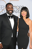 LOS ANGELES - JAN 27:  Bashir Salahuddin, Chadra Russell at the 25th Annual Screen Actors Guild Awards at the Shrine Auditorium on January 27, 2019 in Los Angeles, CA