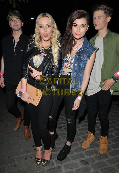 LONDON, ENGLAND - JULY 23: Betsy-Blue English &amp; Parisa Tarjomani of Only The Young attend the RUComingOut.com summer party, Royal Vauxhall Tavern, Kennington Lane, on Thursday July 23, 2015 in London, England, UK.  <br /> CAP/CAN<br /> &copy;Can Nguyen/Capital Pictures