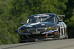 20 June 2008: The Playboy Racing BMW M6, driven by Tommy Constantine (USA) and Mike Borkowski (USA), at the Rolex Sports Car Series Emco Gears Classic, Mid-Ohio Sports Car Course, Lexington, Ohio, USA.