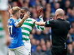 01.09.2019 Rangers v Celtic: Scott Arfield and Olivier Ntcham