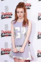 Rosie Day at the Empire Film Awards 2017 at The Roundhouse, Camden, London, UK. <br /> 19 March  2017<br /> Picture: Steve Vas/Featureflash/SilverHub 0208 004 5359 sales@silverhubmedia.com