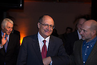 SAO PAULO, SP, 23 DE MAIO DE 2013 - ABERTURA DO VIVA MATA 2013 - O Governador Geraldo Alckmin esteve presente na Abertura do Viva a Mata 2013 realizado no Prédio da Bienal no Parque do Ibirapuera em São Paulo. Durante o evento a Fundação SOS Mata Atlântica apresentou seu novo conselho administrativo. FOTO: MARCELO BRAMMER / BRAZIL PHOTO PRESS