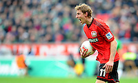 FUSSBALL   1. BUNDESLIGA   SAISON 2012/2013    31. SPIELTAG Bayer 04 Leverkusen - SV Werder Bremen                  27.04.2013 Stefan Kiessling (Bayer 04 Leverkusen) emotional