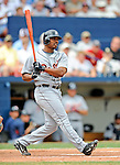 11 March 2008: Detroit Tigers' outfielder Jacque Jones in action during a Spring Training game against the Cleveland Indians at Chain of Lakes Park, in Winter Haven Florida. The Tigers rallied to defeat the Indians 4-2 in the Grapefruit League matchup...Mandatory Photo Credit: Ed Wolfstein Photo
