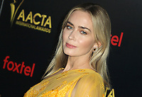04 January 2019 - Los Angeles, California - Emily Blunt. 8th AACTA International Awards hosted by the Australian Academy held at SKYBAR at Mondrian Los Angeles. Photo Credit: AdMedia