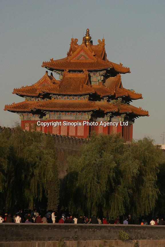 Forbidden City in Beijing, China..01-OCT-03