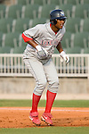 Lakewood BlueClaws shortstop C. J. Henry takes his lead off of first base in game action versus the Kannapolis Intimidators at Fieldcrest Cannon Stadium in Kannapolis, NC, Saturday, August 5, 2006.