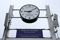 General view of the Dickie Bird clock during Yorkshire CCC vs Essex CCC, Specsavers County Championship Division 1 Cricket at Emerald Headingley Cricket Ground on 13th April 2018