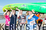At the North Kerry's KDYS 'fittest Club'  Challenge at Ballyheigue beach  on Saturday were Cianna Murphy Lorna Mulvihill, Aaron Sleman, Grace Ryan from Moyvane Youthclub