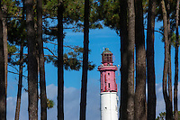 France, Gironde (33), Bassin d'Arcachon, Le Cap-Ferret, le phare // France, Gironde, Bassin d'Arcachon, Le Cap Ferret, the light house