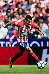 Angel Correa of Atletico de Madrid in action during the La Liga 2017-18 match between Atletico de Madrid and Sevilla FC at the Wanda Metropolitano on 23 September 2017 in Madrid, Spain. Photo by Diego Gonzalez / Power Sport Images