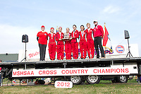 2012 MO State XC Class 1 Girls Team Awards