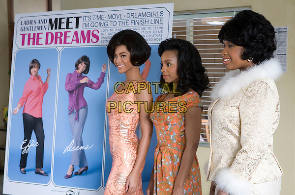 BEYONCE KNOWLES, ANIKA NONI ROSE & JENNIFER HUDSON.in Dreamgirls .**Editorial Use Only**.CAP/FB.Supplied by Capital Pictures