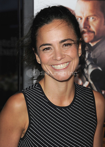 "HOLLYWOOD, CA - MARCH 24:  Alice Braga at the Los Angeles premiere of ""Kill Me Three Times"" at ArcLight Hollywood on March 24, 2015 in Hollywood, California. Credit: PGSK/MediaPunch"