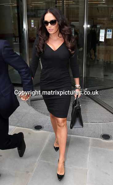 "NON EXCLUSIVE PICTURE: MATRIXPICTURES.CO.UK.PLEASE CREDIT ALL USES..WORLD RIGHTS..British socialite, media personality and recent Playboy glamour model Tamara Ecclestone is pictured leaving London's High Court with her fiance Jay Rutland...The Formula 1 heiress has won the latest round in a custody battle over a rare Lamborghini Aventador...Ecclestone's former boyfriend, Omar Khyami, with whom she split last july, asserted she had given him the car as a birthday gift, which she denied via her lawyer Andreas Gledhill...The exotic sports car was collected from a London pound earlier this month, where it had been taken while away for service, then turning up in a garage owned by Elite Performance Cars Ltd, from whom she had originally purchased the car...Mr Gledhill stated that, unbeknownst to Ms Ecclestone, Mr Khyami had borrowed money from Elite, using the Lamborghini as collateral agains the loan...Ms Ecclestone made no comment following the hearing, which her lawyers said would ""hold the ring"" until a court could decide on the issue...APRIL 22nd 2013..REF: WTX 132679"