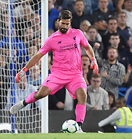 Alisson of Liverpool <br /> 29-09-2018 Premier League <br /> Chelsea - Liverpool<br /> Foto PHC Images / Panoramic / Insidefoto <br /> ITALY ONLY