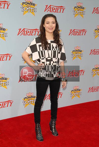 "Miranda Cosgrove<br /> at Variety's 3rd Annual ""Power of Youth,"" Paramount Studios, Hollywood, CA. 12-05-09<br /> David Edwards/DailyCeleb.com 818-249-4998"