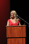 Terri Conn (stars in Jack and Diane) and introduced Danny Aiello who was being honored - Hoboken International Film Festival opening night June 3 and continuing through June 9, 2016 at the Paramount Theatre in Middletown, New York honoring Martin Kove and Danny Aiello. (Photo by Sue Coflin/Max Photos)