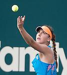 Belinda Bencic (SUI) defeats Sara Errani (ITA, 4-6, 6-2, 6-1