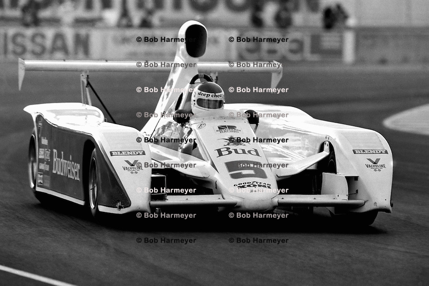 LAS VEGAS, NV - OCTOBER 16: Bobby Rahal drives the #5 Paul Newman March 817 1/Chevrolet during the Coors Can Am Challenge SCCA Can-Am race on the temporary circuit in Las Vegas, Nevada, on October 16, 1981.