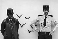 - Francia, polizia a Parigi  (1978)<br /> <br /> - France, police in Paris (1978)