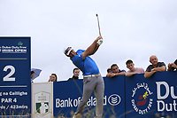 Ryan Fox (NZL) tees off the 2nd tee during Saturday's Round 3 of the 2018 Dubai Duty Free Irish Open, held at Ballyliffin Golf Club, Ireland. 7th July 2018.<br /> Picture: Eoin Clarke | Golffile<br /> <br /> <br /> All photos usage must carry mandatory copyright credit (&copy; Golffile | Eoin Clarke)
