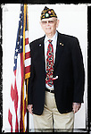 Veteran Russ Fisher poses for a photo at a Veterans Day Program at the Oxford Conference Center in Oxford, Miss. on Thursday, November 11, 2010.
