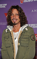 WWW.ACEPIXS.COM . . . . . ....September 11 2009, LA....Musician Chris Cornell at the 2nd Annual Virgin America Sunset Strip Music Festival Party at the Andaz West on September 11, 2009 in Los Angeles, California.....Please byline: JOE WEST- ACEPIXS.COM.. . . . . . ..Ace Pictures, Inc:  ..(646) 769 0430..e-mail: info@acepixs.com..web: http://www.acepixs.com