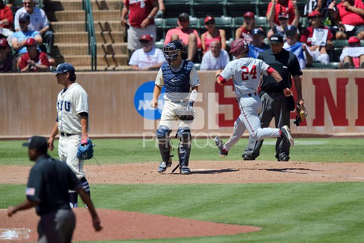 Stanford, CA - June 3, 2017:  Stanford Baseball wins over BYU 9-1 in a Regional elimination game at Sunken Diamond.