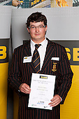 Lawn Bowls Boys winner Matthew Pulman from Pukekohe High School.   ASB College Sport Young Sportsperson of the Year Awards held at Eden Park, Auckland, on November 11th 2010.