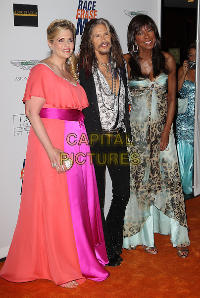 Century City, CA - May 2: Nancy Davis, Steven Tyler, Natalie Cole Attending 21st Annual Race To Erase MS Gala At the Hyatt Regency Century Plaza  California on May 2, 2014.   <br /> CAP/MPI/RTNUPA<br /> &copy;RTNUPA/ MediaPunch/Capital Pictures