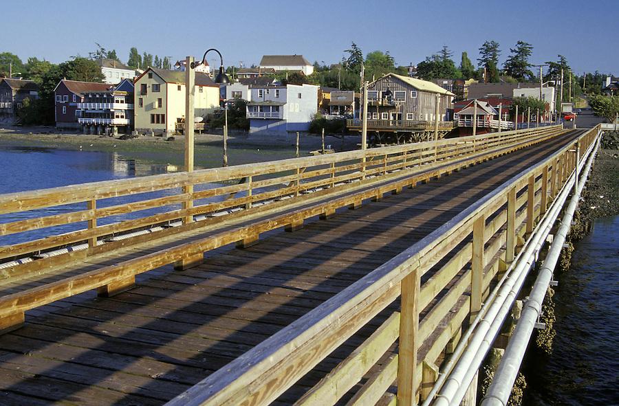Coupeville waterfront and pier, Coupeville, Washington
