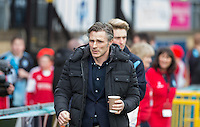 Wycombe Wanderers Manager Gareth Ainsworth heads out for the match during the Sky Bet League 2 match between Wycombe Wanderers and Bristol Rovers at Adams Park, High Wycombe, England on 27 February 2016. Photo by Andrew Rowland.