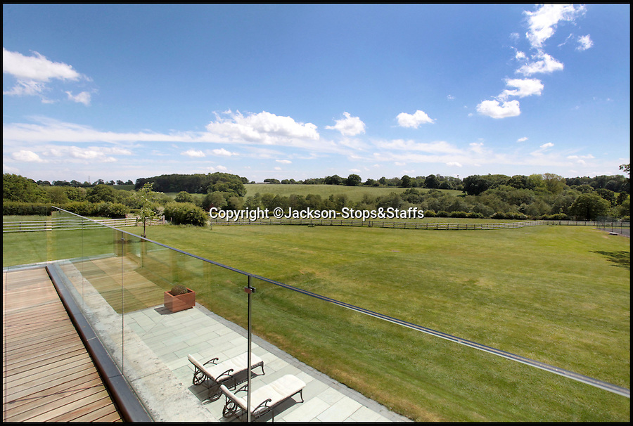 BNPS.co.uk (01202 558833)<br /> Pic: Jackson-Stops&Staff/BNPS<br /> <br /> Comes with 26 acres...<br /> <br /> For sale - Super home with its own leisure centre attached.<br /> <br /> The buyers of this stunning country property will never need to leave home again - with their own leisure complex at their fingertips.<br /> <br /> Birchwood House in Hoar Cross, Staffs, is a bespoke five-bedroom house that makes the most of the incredible countryside surrounding it with floor to ceiling windows in most rooms.<br /> <br /> But the really unusual selling feature is its unsurpassed leisure suite with a purpose-built gym, 15-metre swimming pool, sauna and steam room. <br /> <br /> It might save you a fortune in gym fees, but any wannabe owners will need £2.75million to get their hands on this cutting edge, contemporary pad.<br /> <br /> The house also has a media room which currently has a pool table and a home cinema, meaning you really could settle in for the long haul.