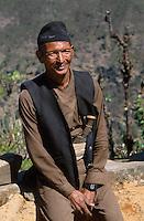NEPAL Sherpa in Himalaya mountains / NEPAL Sherpa im Himalaja Gebirge