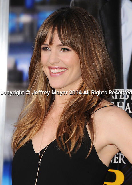 WESTWOOD, CA- APRIL 07: Actress Jennifer Garner attends the Los Angeles premiere of 'Draft Day' at the Regency Village Theatre on April 7, 2014 in Westwood, California.