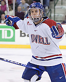 Jason Tejchma - The University of Massachusetts-Lowell River Hawks defeated the Boston College Eagles 6-3 on Saturday, February 25, 2006, at the Paul E. Tsongas Arena in Lowell, MA.